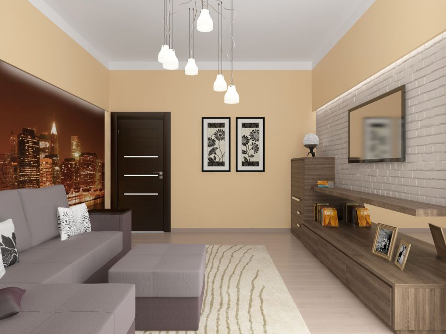 Фото - Дизайн двухкомнатной квартиры на Печерске