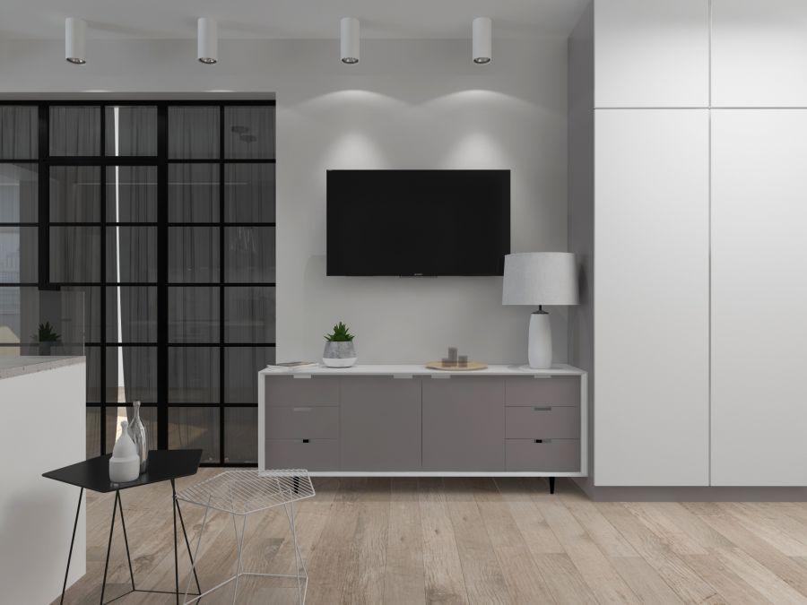 Фото - Квартира в бело-серых тонах