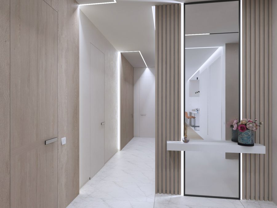 Фото - Просторная квартира для семьи из четырех человек