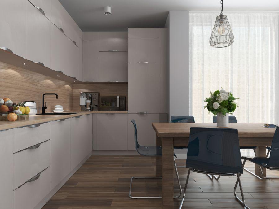 Фото - Кухня для готовой квартиры в Вене