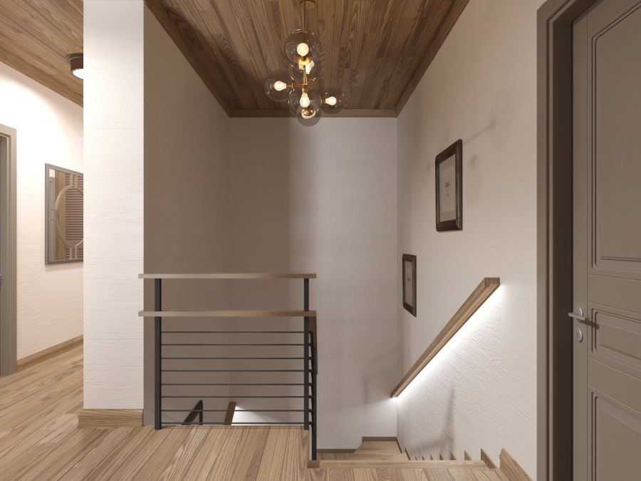 Фото - Дизайн загородного дома в Петровцах