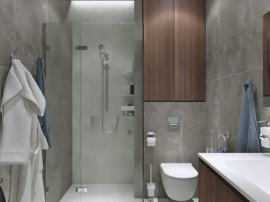 Фото - Дизайн трехкомнатной квартиры