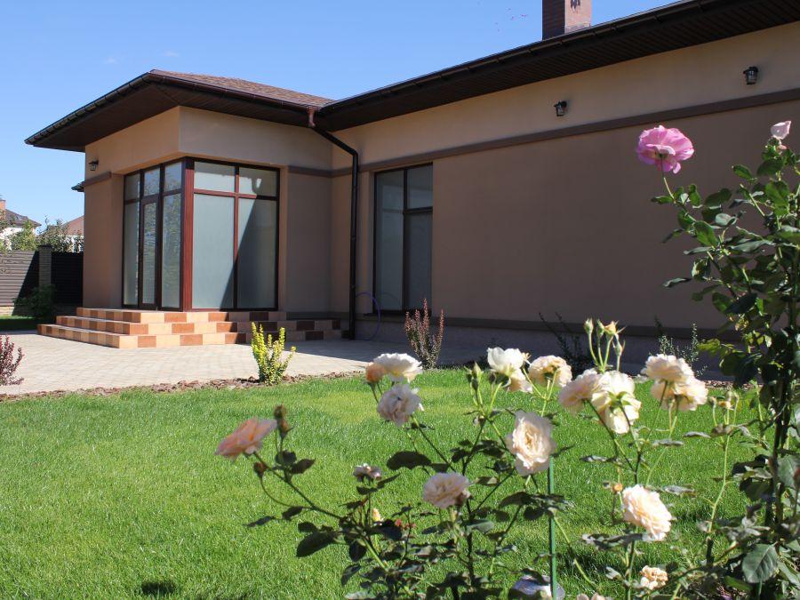 Фото - Реализация дизайна экстерьера частного дома