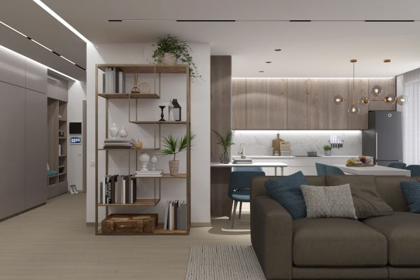 """Фото - Дизайн трехкомнатной квартиры в ЖК """"Парковые Озера"""""""