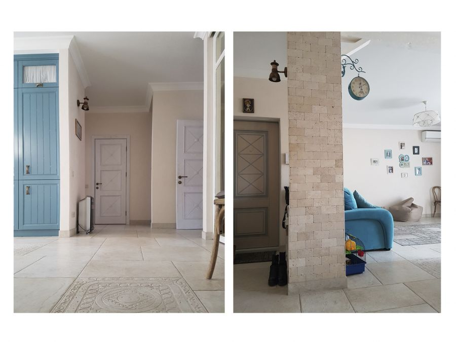 Фото - Ремонт трехкомнатной квартиры в провансе 2016