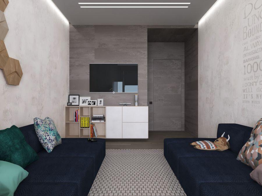 Фото - Дизайн трехкомнатной квартиры на Печерске