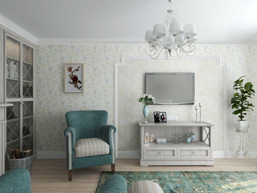 Фото - Прованс в двухкомнатной квартире