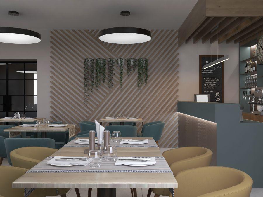 Фото - Дизайн ресторана в мини-отеле